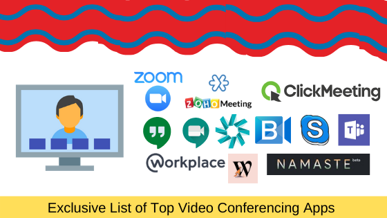 Exclusive List of Top Video Conferencing Apps